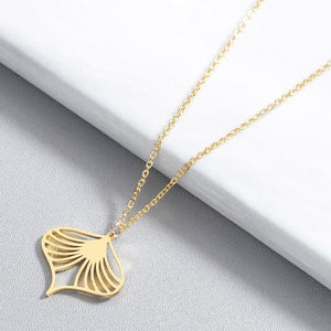Seashell Stainless Steel Necklace - Oneposh