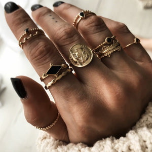 Kalene Rings Set - Oneposh