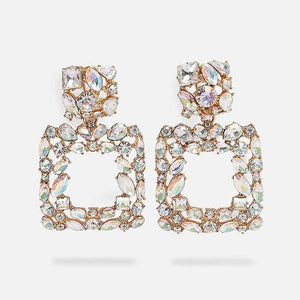 Ava Crystal Earrings - Oneposh