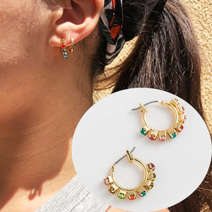 Adair Hoop Earrings - Oneposh
