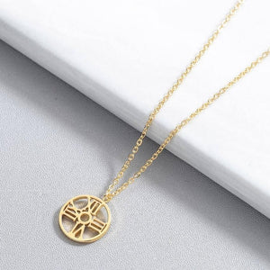 Time Stainless Steel Necklace - Oneposh