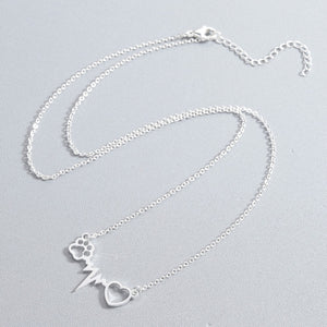 Heartbeat Stainless Steel Necklace - Oneposh