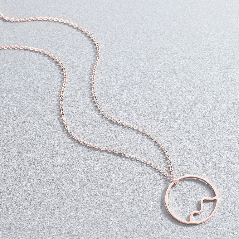 Celine Stainless Steel Necklace - Oneposh