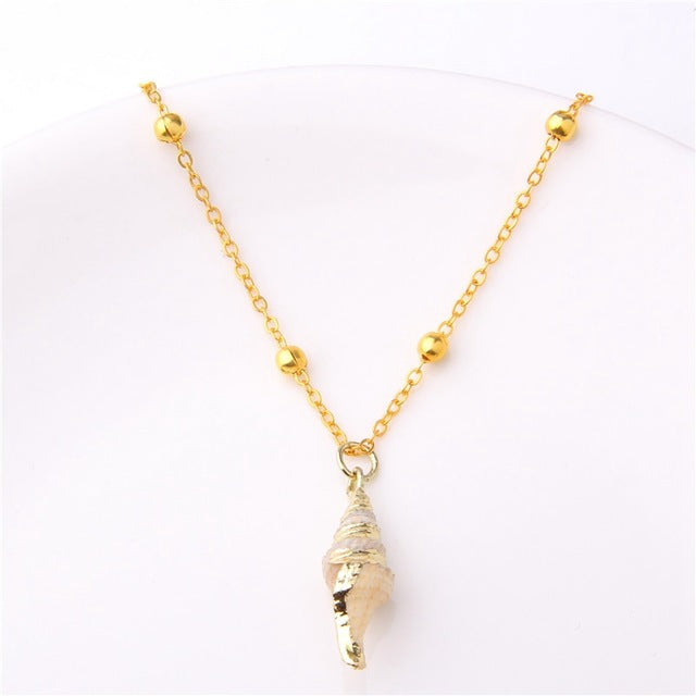 Oriana Shell Necklace - Oneposh