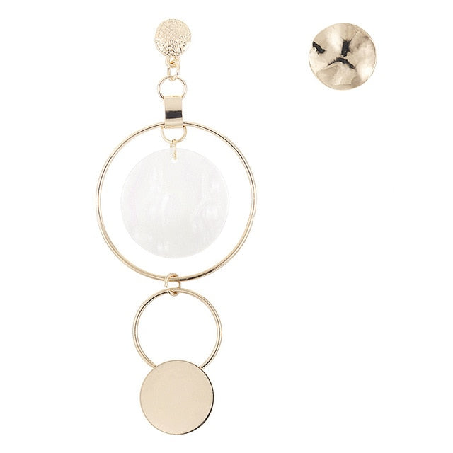 Asymmetric Earrings - Oneposh