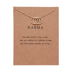 Karma Charm Necklace - Oneposh