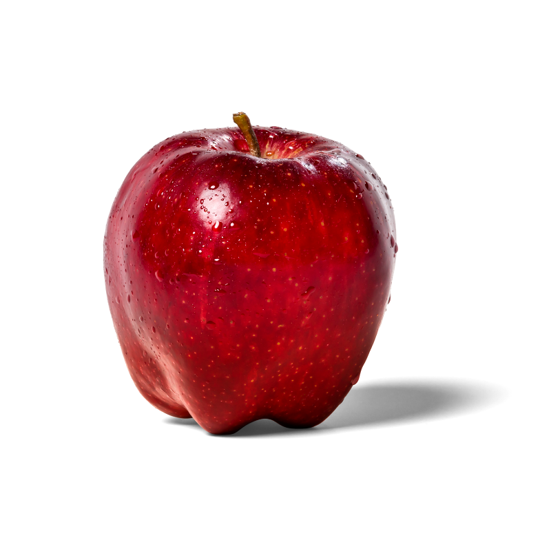Apple Red Fuji - China | 富士红苹果-  (中国) | (Pack of 5)