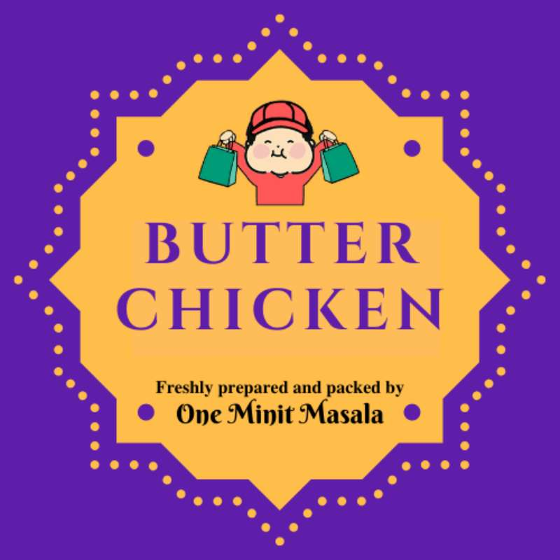 Butter Chicken (1 pkt) | Fresh Chicken, Pork, Seafood, Vegetables and More