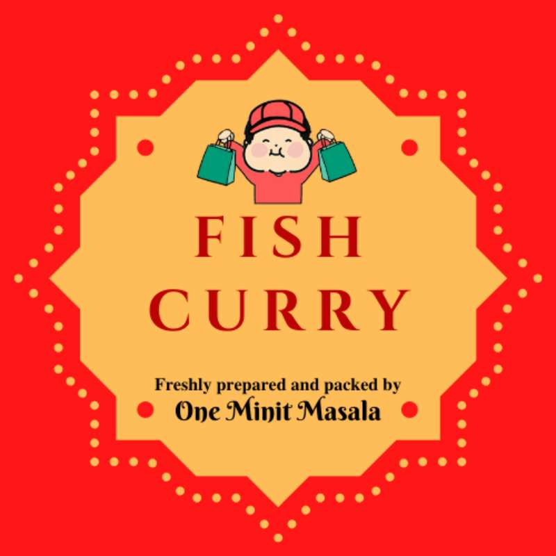 Fish Curry (1 pkt) - Market Boy