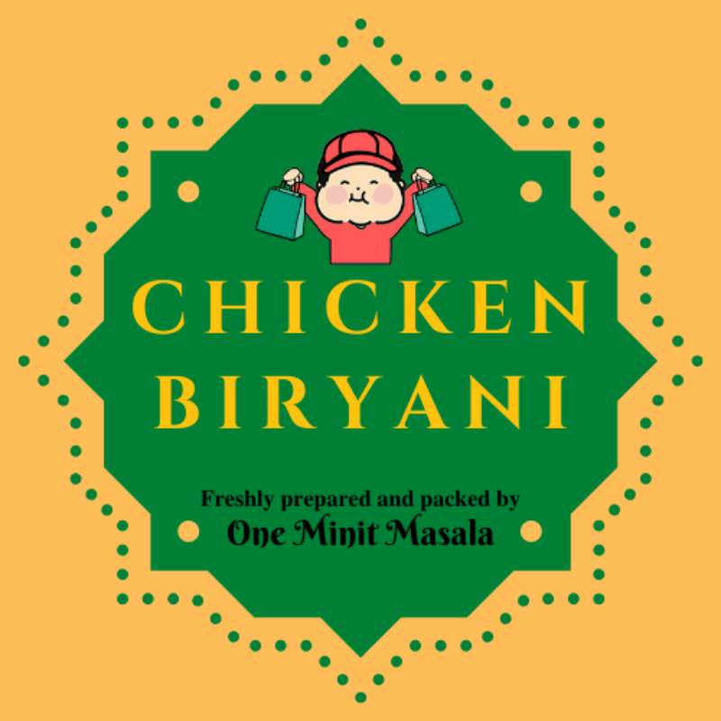 Chicken Biryani (1 pkt) | Fresh Chicken, Pork, Seafood, Vegetables and More