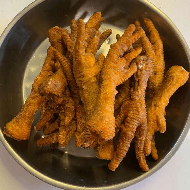 Local Fried Large Chicken Feet (1pkt) - Market Boy