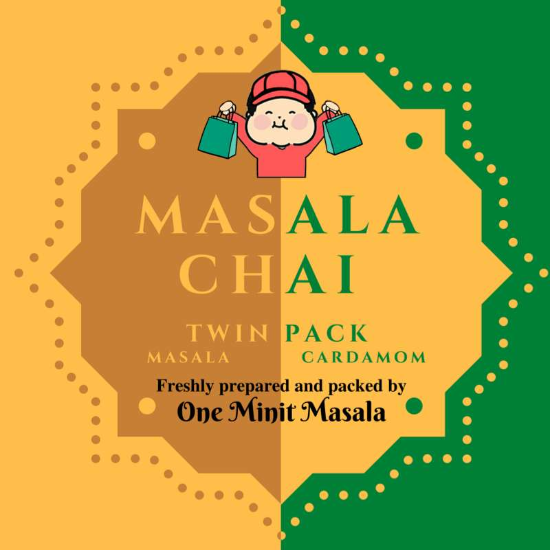 Masala Chai Twin Pack | 印度马萨拉茶 | (1 pkt)