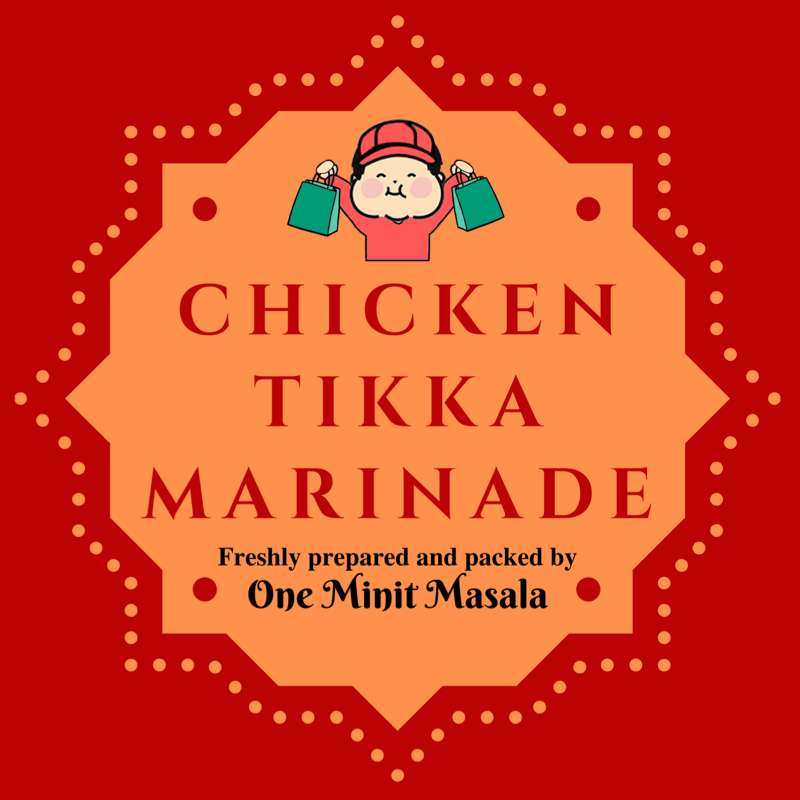 Chicken Tikka Marinade (1 pkt) | Fresh Chicken, Pork, Seafood, Vegetables and More