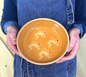 Orange Hare Bowl