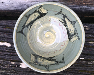 Basking Shark Bowl with Fat Fish