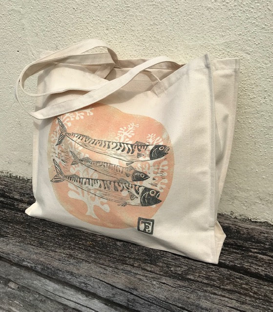 Mackerel Canvas Bag