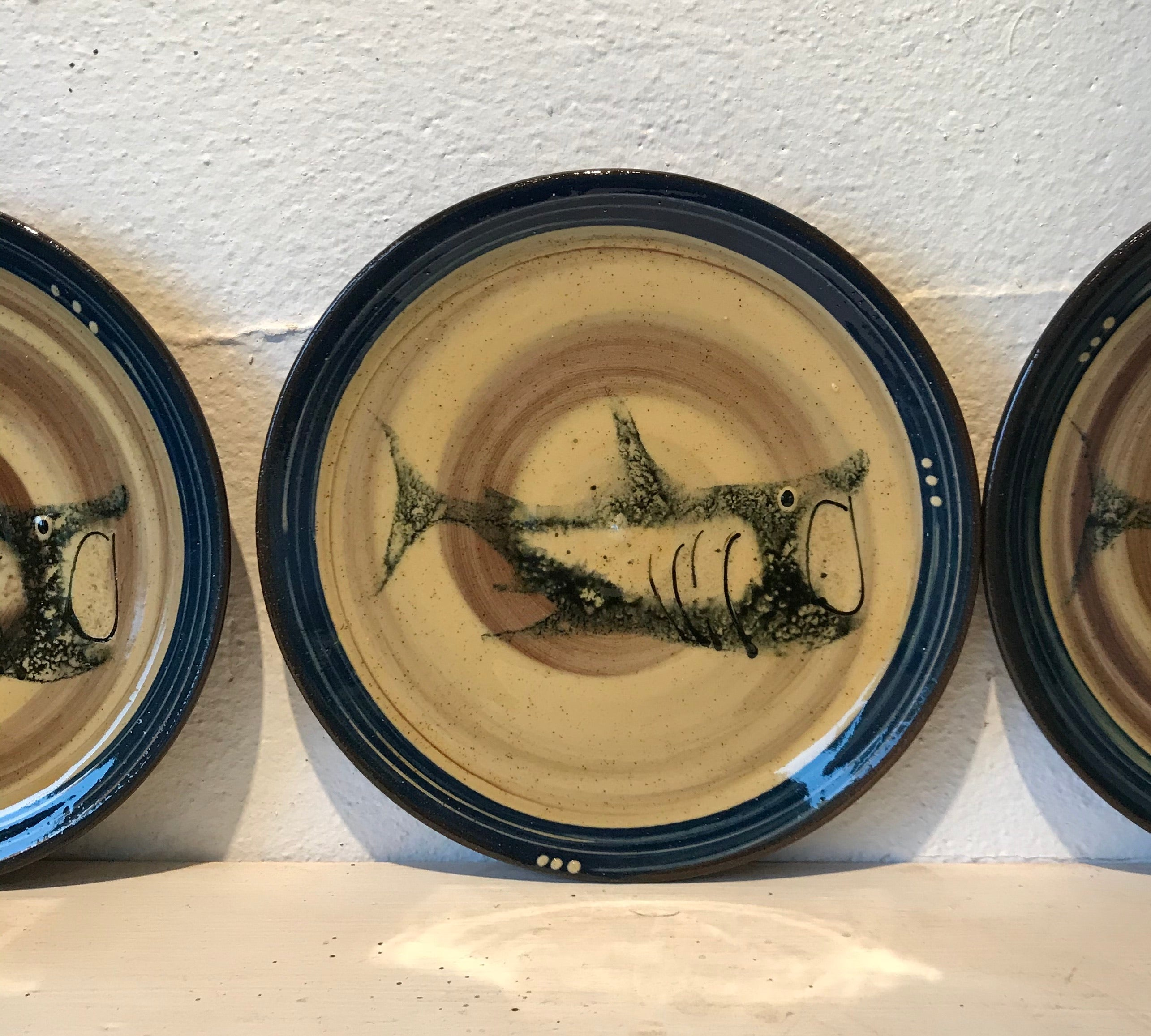 Basking Shark Plate