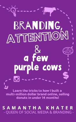 Branding, Attention & a Few Purple Cows