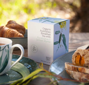 Organic Australian Breakfast Tea with Eucalyptus & Myrtle