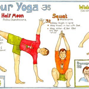 Liz Cook Yoga Chart (male)