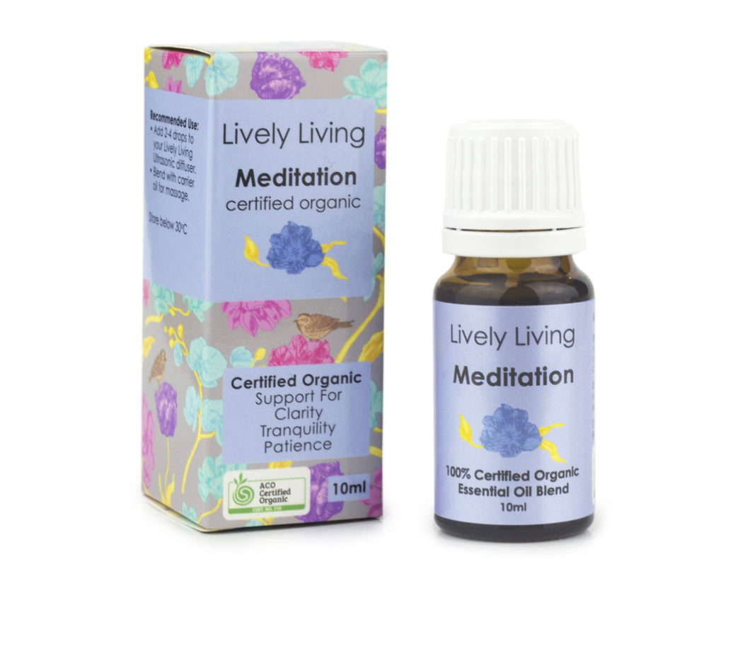 Lively Living Meditation Essential Oil Blend