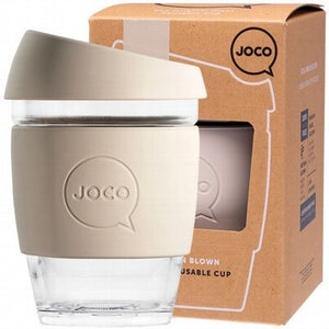 JOCO - Reusable Glass Cup  Regular 12oz 354ml