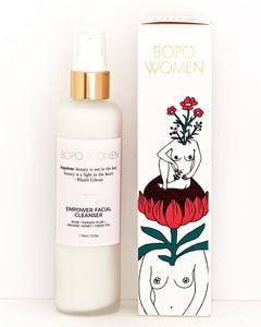 Bopo Empower facial cleanser