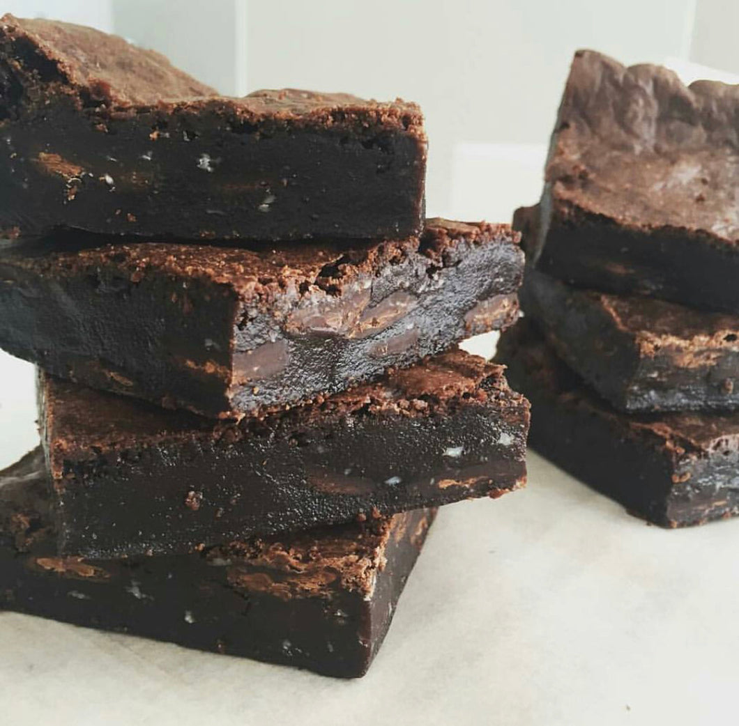 Vegan, Gluten free Chocolate Fudge Brownie
