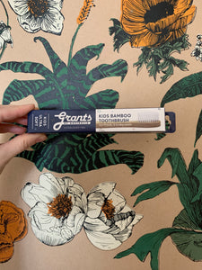 Grants Bamboo Toothbrush: extra soft, kids