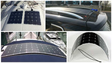Load image into Gallery viewer, 12V 250W Mono Flexible Solar Panel Boatb Battery Charging + Regulator