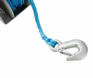 3Tons Hand Winch 3-Speed 10M x 7MM Dyneema Synthetic Rope Boat 4WD 4X4 Recovery
