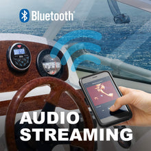 Load image into Gallery viewer, BOSS AUDIO MGR350B BLUETOOTH MECHLESS MARINE USB MP3 WMA PLAYER RECEIVER