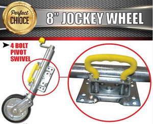 "Heavy Duty 8"" Jockey Wheel"