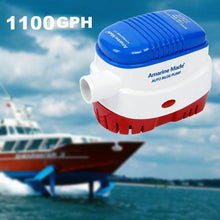 Load image into Gallery viewer, Boat Automatic Submersible Bilge Water Pump Auto w/ Float Switch AU
