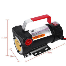 Load image into Gallery viewer, 12V Car Diesel Electric Fuel Fluid Extractor Oil Transfer Pump Tools Fitting Set