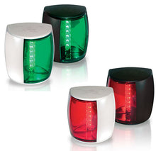 Load image into Gallery viewer, HELLA Marine 3NM Navi LED PRO Port Navigation Lamp RED and Green Pack