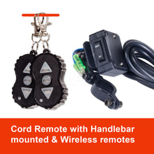 Load image into Gallery viewer, 12V Electric Car Winch 3000LBS/1361KG Wireless Remote Steel Cable Rope 4WD ATV IMAX