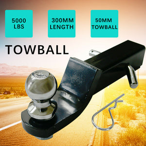 Towbar Tongue Tow Ball Mount Hitch Caravan 4x4 4WD Car Tow Bar Trailer 5000LBS