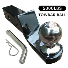 Load image into Gallery viewer, Towbar Tongue Tow Ball Mount Hitch Caravan 4x4 4WD Car Tow Bar Trailer 5000LBS