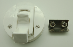 2 x Flush Mount Pull Latch 62mm Suits to 18mm deep