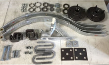 Load image into Gallery viewer, Trailer Kit No Brake Coupling Leaf Spring Hub Bearing Kit for Single Axle rated  1T
