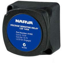 Load image into Gallery viewer, NARVA VOLTAGE SENSITIVE RELAY 12V VSR 140A DUAL BATTERY