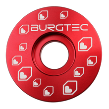 Load image into Gallery viewer, Burgtec Top Caps Race Red