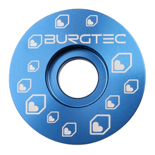 Load image into Gallery viewer, Burgtec Top Caps Deep Blue