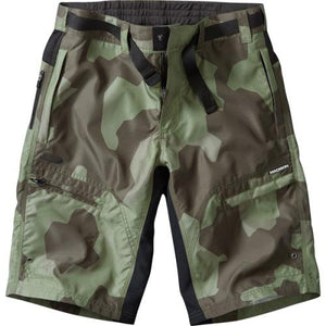 Madison Trail Mens Camo Shorts Front