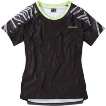 Load image into Gallery viewer, Madison Flux Womens Short Sleeve Black/Dark Shadow Jersey