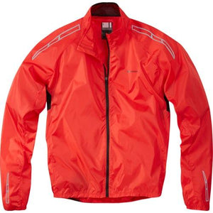 Madison Unisex Pack It Jacket Red