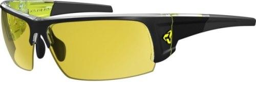 Ryders Caliber Anti-Fog Glasses Black-Yellow / Yellow Lens Anti-fog