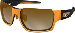 Ryders Invert Standard Lens Orange-Black Matte / Brown Lens Gradient