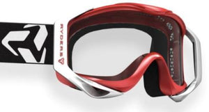 Ryders Tallcan Goggle Red-White / Clear Double Lens